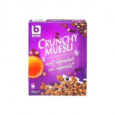 Boni Selection Crunchy muesli chocolat 750 gr CHOCKIES