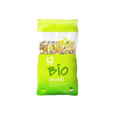 Boni Selection Bio muesli 1 kg EPICERIE BELGE CHOCKIES