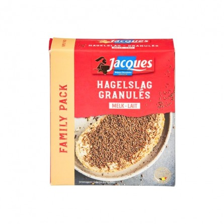 Jacques granules vermicelli chocolate milk 350 gr
