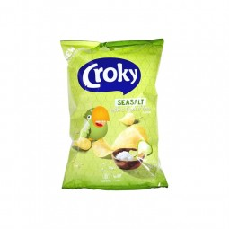 Croky Seasalt lime touch 200 gr