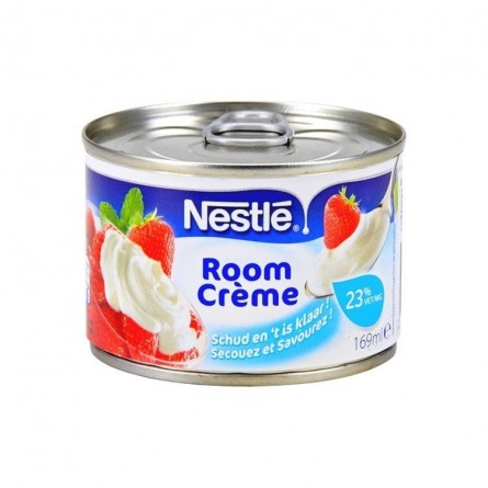 Nestlé room crème 23% mg conserve 169 ml chockies belge