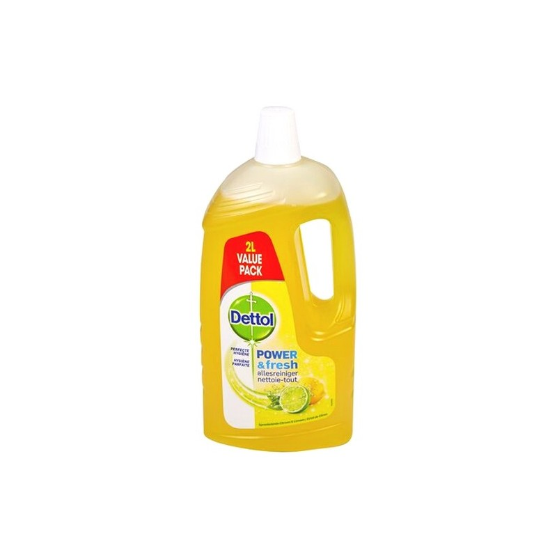 Dettol Power & Fresh lemon 2 L