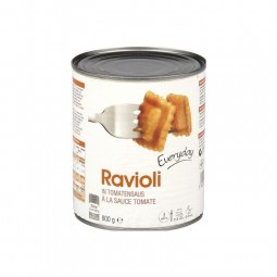Everyday raviolis sauce tomate 800 gr BELGE CHOCKIES