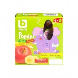 Boni Selection Pomini pomme banane 360 gr CHOCKIES