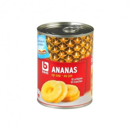 Boni Selection ananas tranches au jus 567 gr CHOCKIES