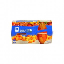Boni Selec Cocktail fruits tropicaux 4x 120 gr CHOCKIES