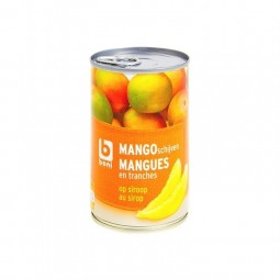 Boni Selection mangue tranche sirop 425 gr CHOCKIES