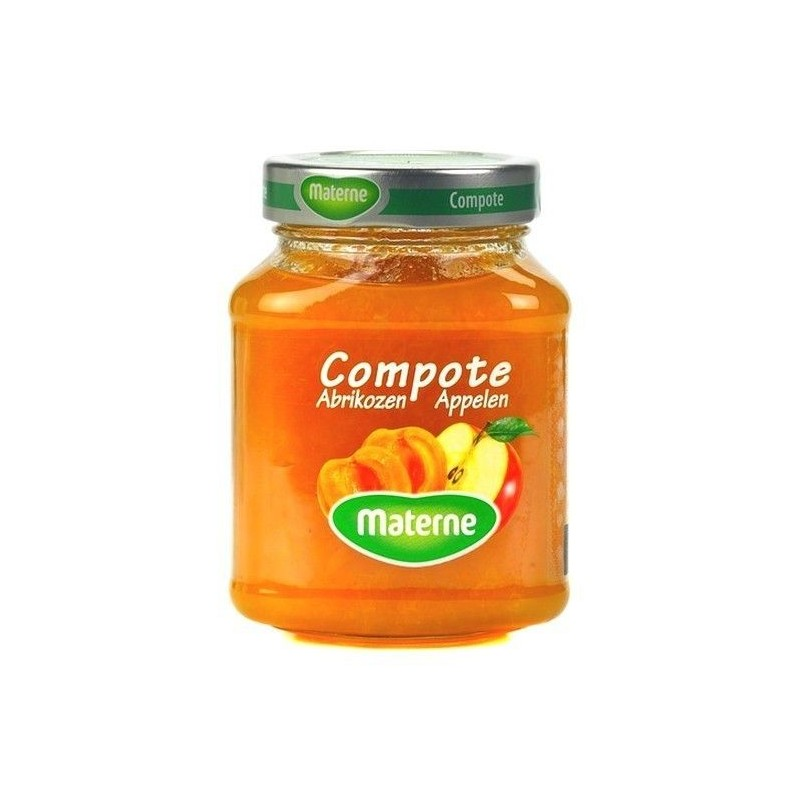 Materne compote abricots pommes 375 gr CHOCKIES