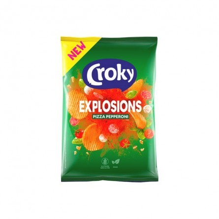TF - Croky Explosions Pizza Pepperoni 150 gr