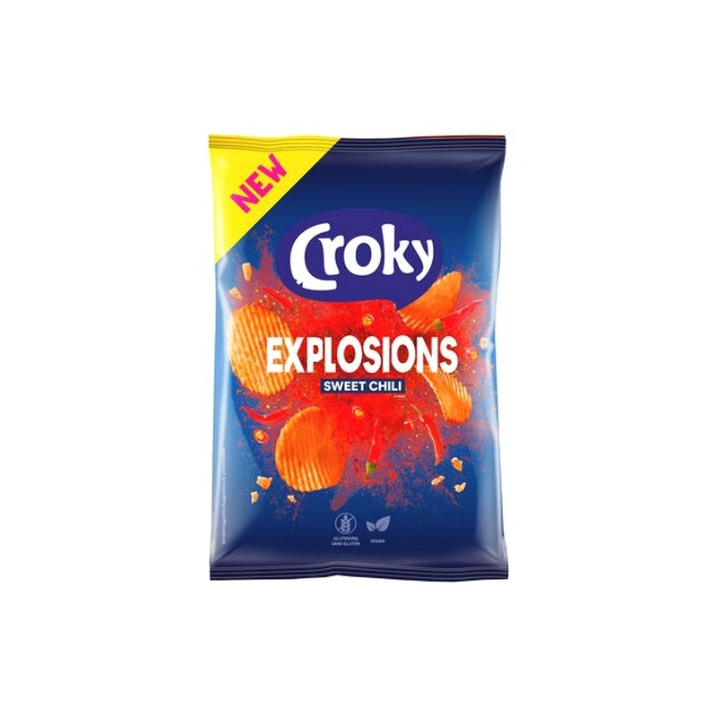 TF - Croky Explosions Sweet Chili 150 gr