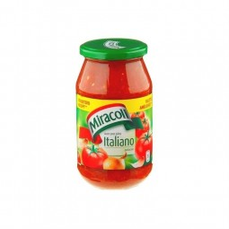 Miracoli sauce Italiano 530 gr EPICERIE BELGE CHOCKIES