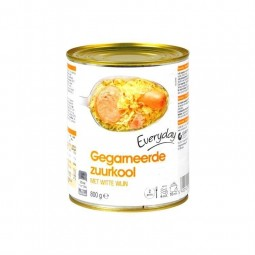 Everyday choucroute garnie 800 gr EPICERIE CHOCKIES