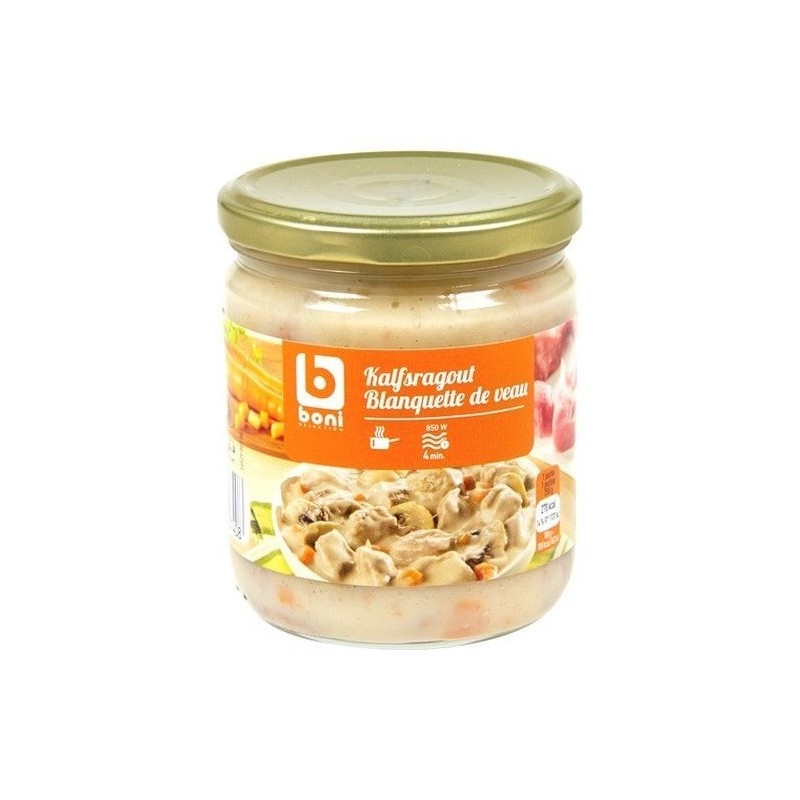 Boni Selection Blanquette de veau 400 gr EPICE CHOCKIES