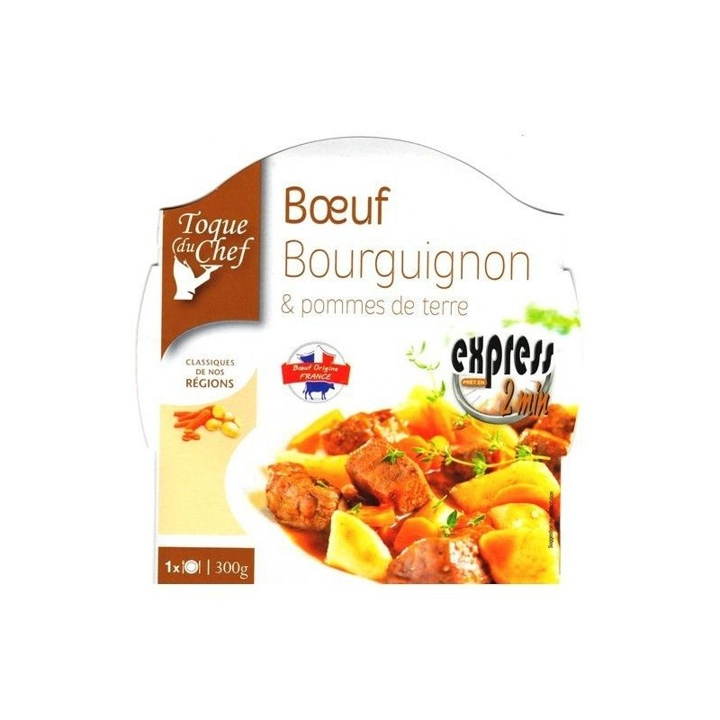 LF/ Toque du Chef boeuf Bourgignon pdt 300 gr CHOCKIES