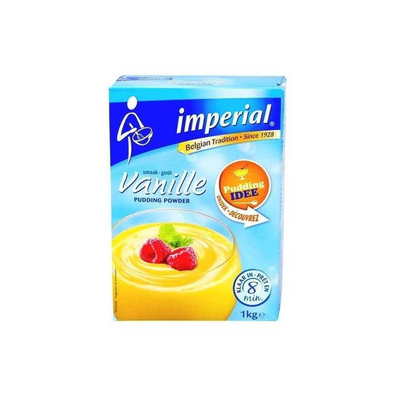 Impérial poudre pudding vanille 1 kg BELGE CHOCKIES