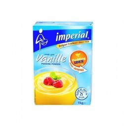 Imperial vanilla pudding powder 1 kg BELGE CHOCKIES