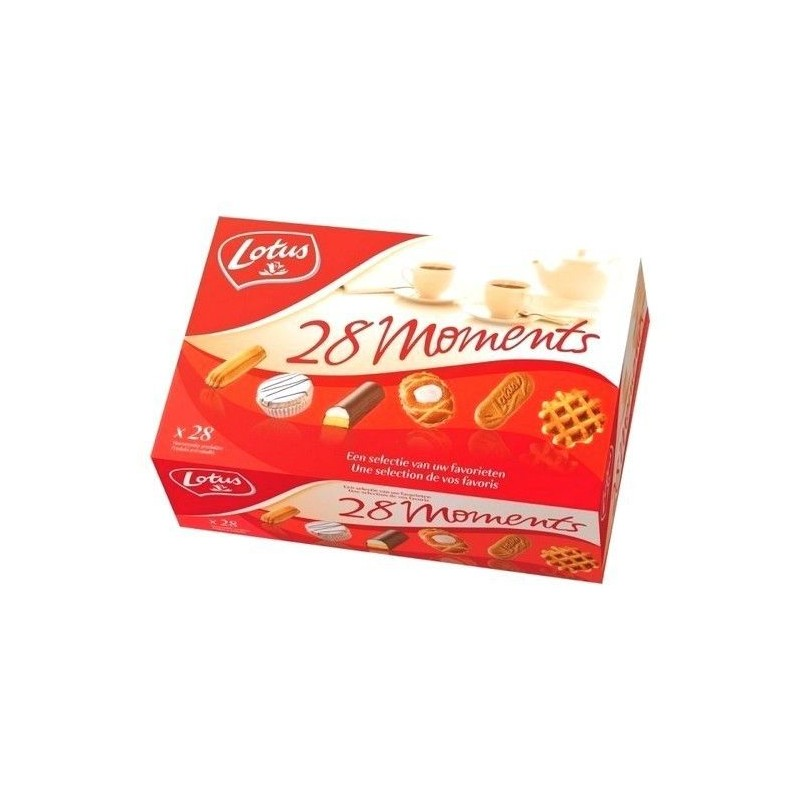 Lotus 28 moments assortiment 989 gr - CHOCKIES EPICERIE