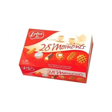 Lotus 28 moments assortment 989 gr CHOCKIES EPICERIE