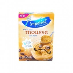 Imperial mocha mousse 6 servings 2x 58 gr BELGE CHOCKIES