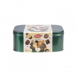 Delacre Tea time biscuits mixture 1 kg - CHOCKIES belge
