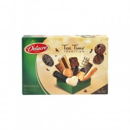 Delacre Tea time tradition biscuits 500 gr - CHOCKIES