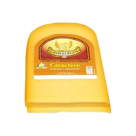 Grimbergen cheese Abbey Character sliced ± 350 gr CHOCKIES