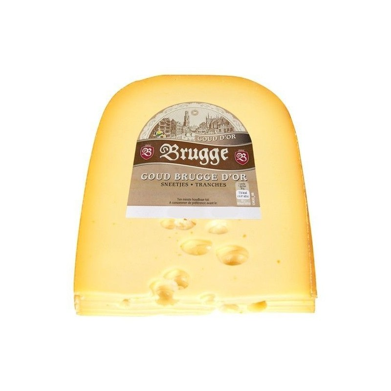 Brugge Goud fromage tranches ± 375 gr BELGE CHOCKIES