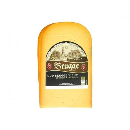 Brugge vieux gouda tranches ± 375 gr EPICERIE CHOCKIES