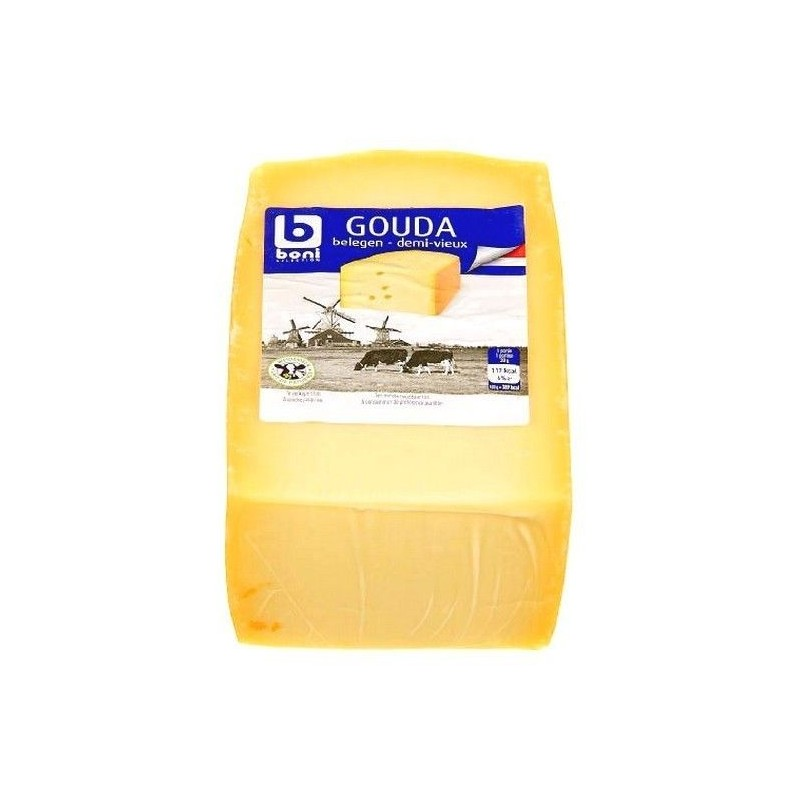 Boni Selection gouda demi-vieux bloc ± 1 kg CHOCKIES