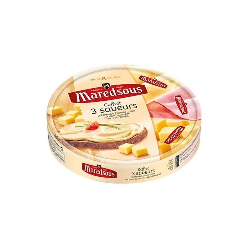 Maredsous mix Abbey process cheese 8 pc 140 gr