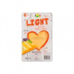 A/ Molenland Light fromage abbaye 6 tranches 200 gr Cho