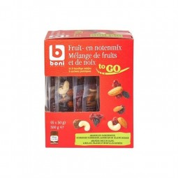 Boni Selection mix noix et baies 6x 50 gr BELGE CHOCKIE