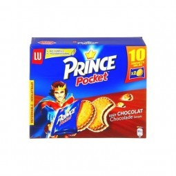 LU Prince pocket chocolat (10 x 2 bisc.) 400 g CHOCKIES
