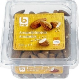 BONI SELECTION amandes 250gr - EPICERIE BELGE CHOCKIES