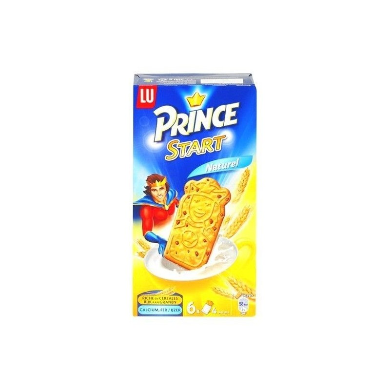 LU Prince Start Natural biscuits 300 gr CHOCKIES