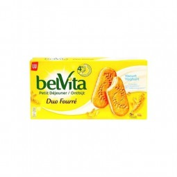 LU Belvita Duo fourré yaourt 253 gr CHOCKIES
