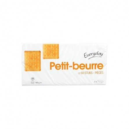 Everyday biscuits petit-beurre 2x 200 gr CHOCKIES