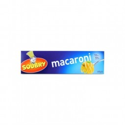 Soubry macaroni long 375 gr chockies magasin belge