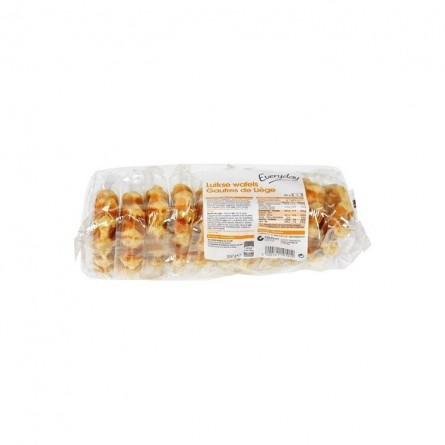 Everyday Liege Belgian waffles 10 pcs 550 gr CHOCKIES EPICERIE