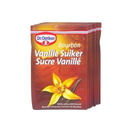 Dr Oetker sucre vanille bourbon sachets 10x8gr CHOCKIES