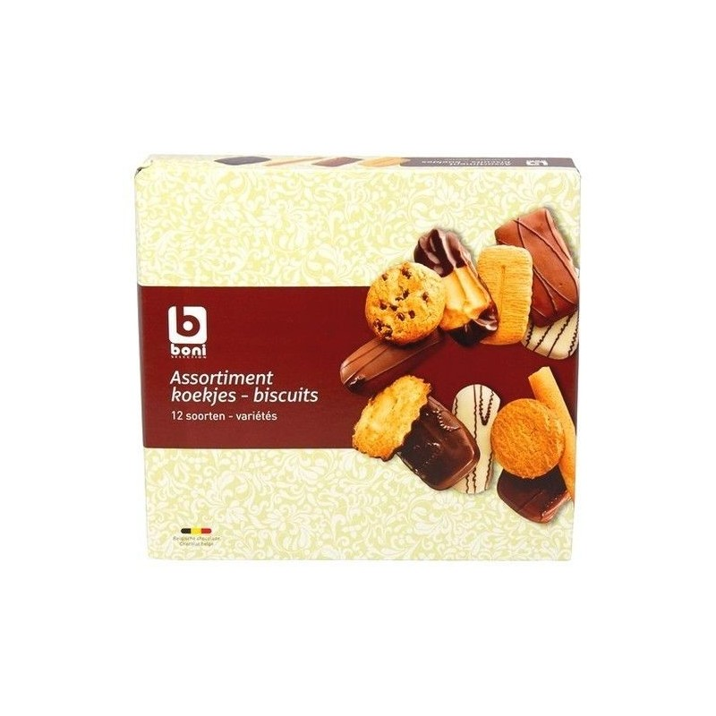 Boni Selection assortiment de biscuits 500 gr CHOCKIES