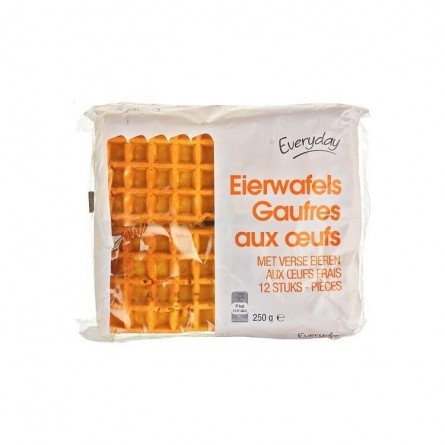 Everyday 12 waffles with eggs 250 gr CHOCKIES EPICERIE