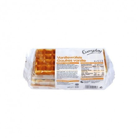 Everyday 8 gaufres vanille 300 gr CHOCKIES EPICERIE