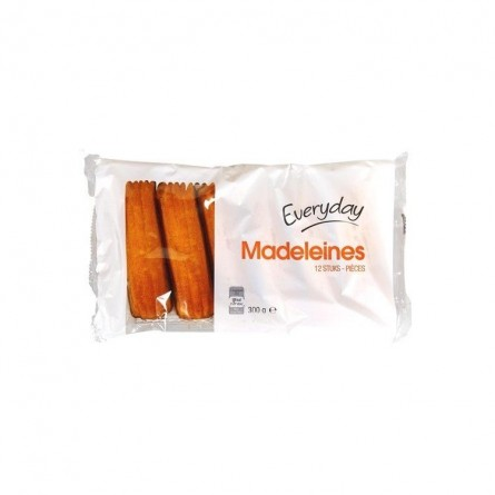 Everyday 12 long madeleines pastry 300 gr CHOCKIES BELGE
