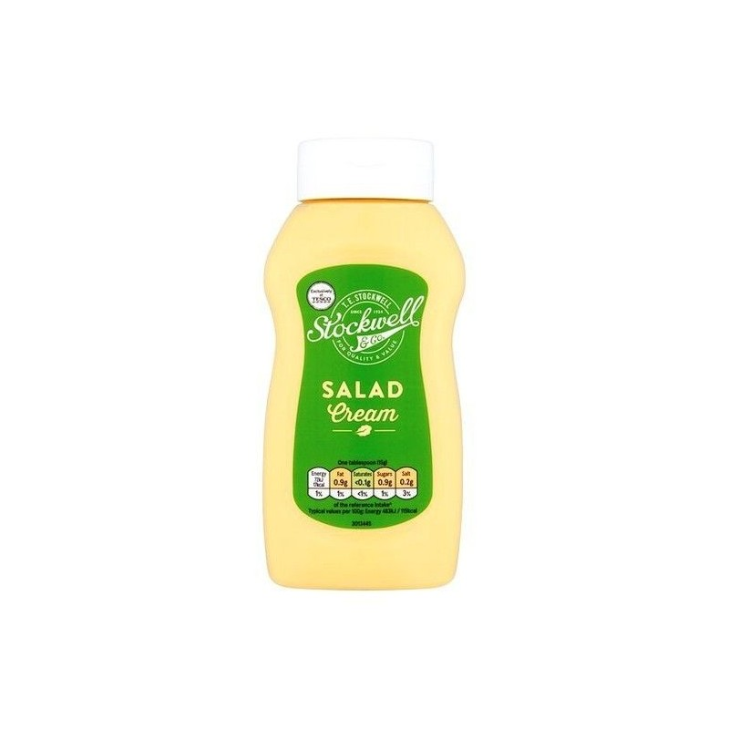 Stockwell & Co salad cream 540 gr Chockies UK food