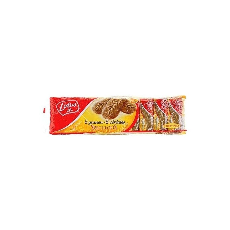 Lotus speculoos 6 cereals 18 x 2 pc 450 gr