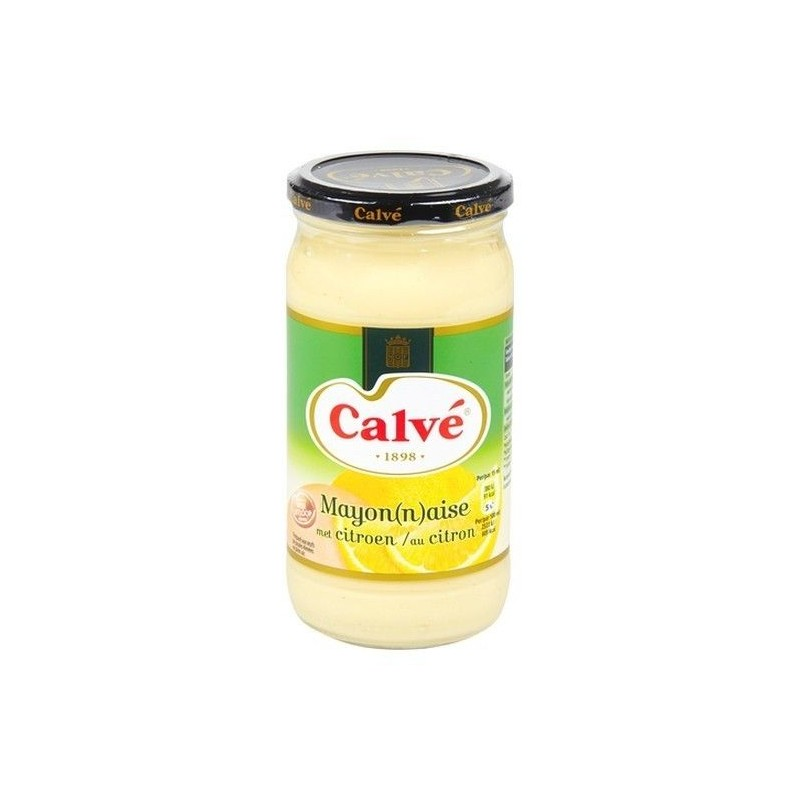 CALVE mayonnaise citron 500 ml EPICERIE BELGE CHOCKIES