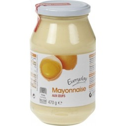 EVERYDAY mayonnaise oeufs 470gr - EPICERIE CHOCKIES