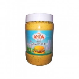Anda sauce Hamburger 650 ml CHOCKIES épicerie belge