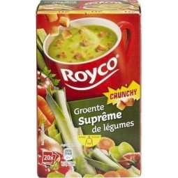 ROYCO Crunchy suprême de légumes 20 pcs - CHOCKIES SHOP